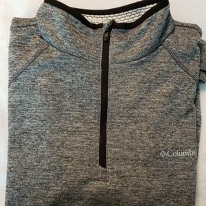 Columbia | Men's Zipper Front Pull Over Size XL